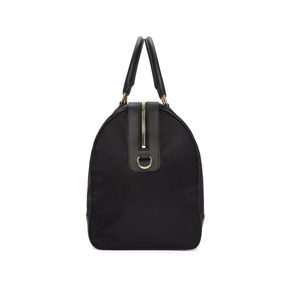 0bc650d05d Lyst - Dolce   Gabbana Black Nylon Duffle Bag in Black for Men