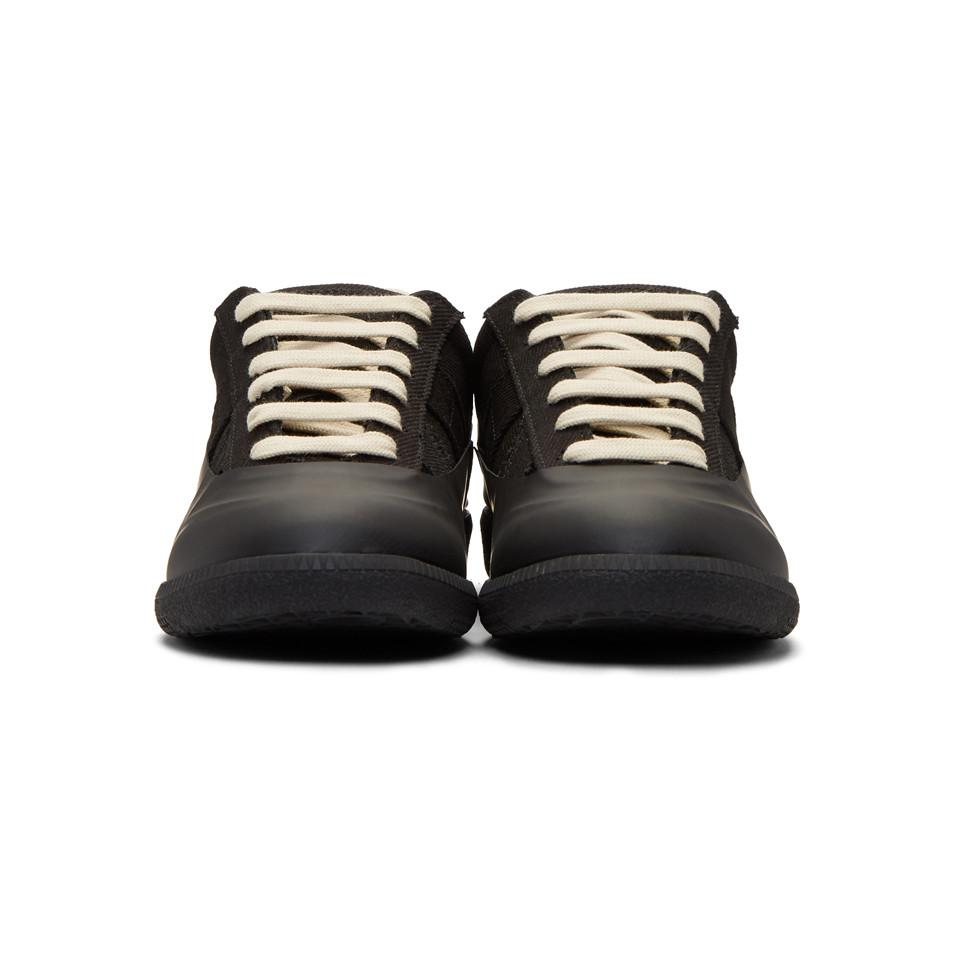 Black Galosh Replica Sneakers Maison Martin Margiela