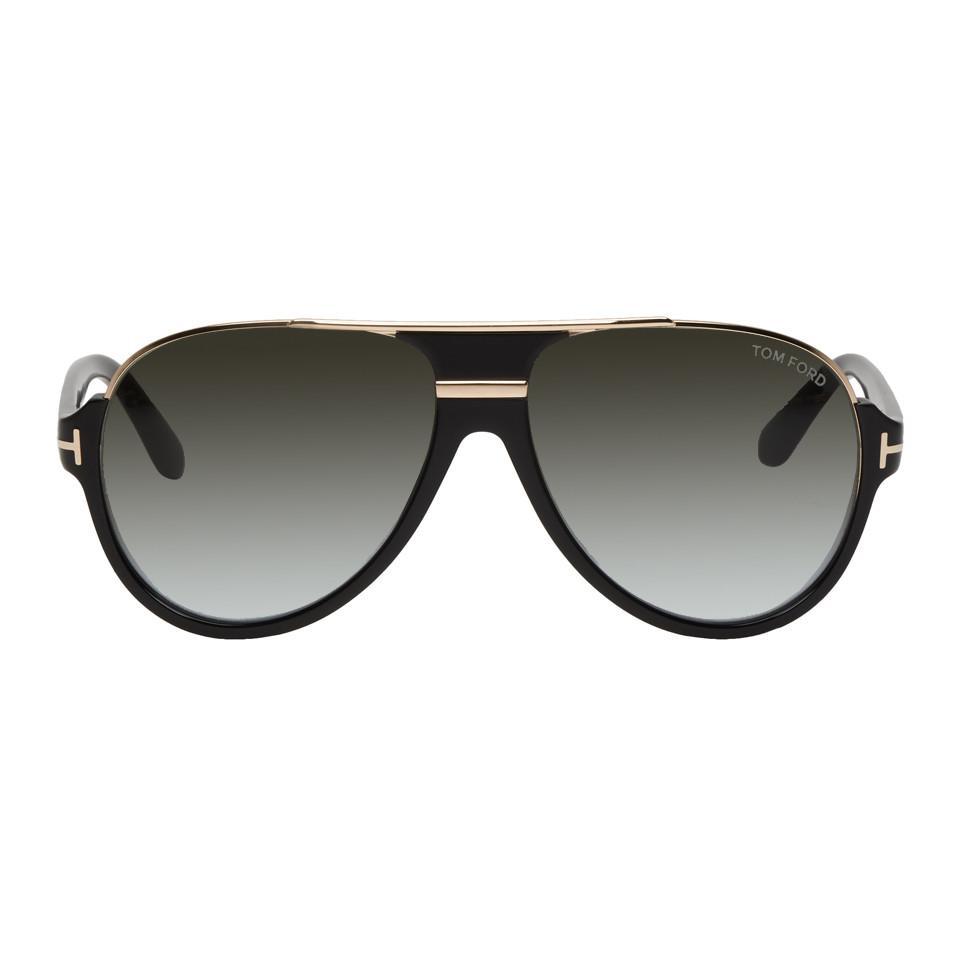 9f73d0aca4c Tom Ford - Black Dimitry Sunglasses for Men - Lyst. View fullscreen