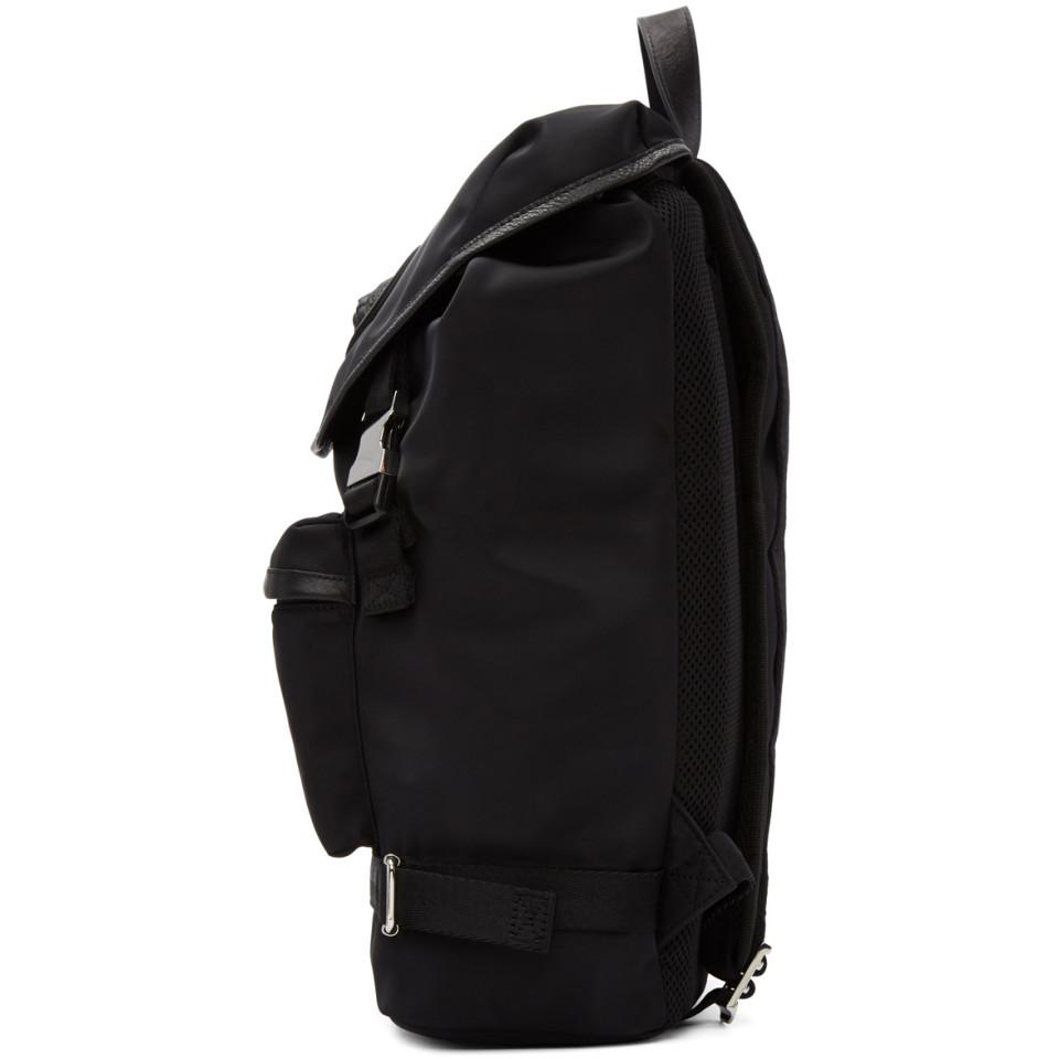 Versus Synthetic Black Hiking Backpack