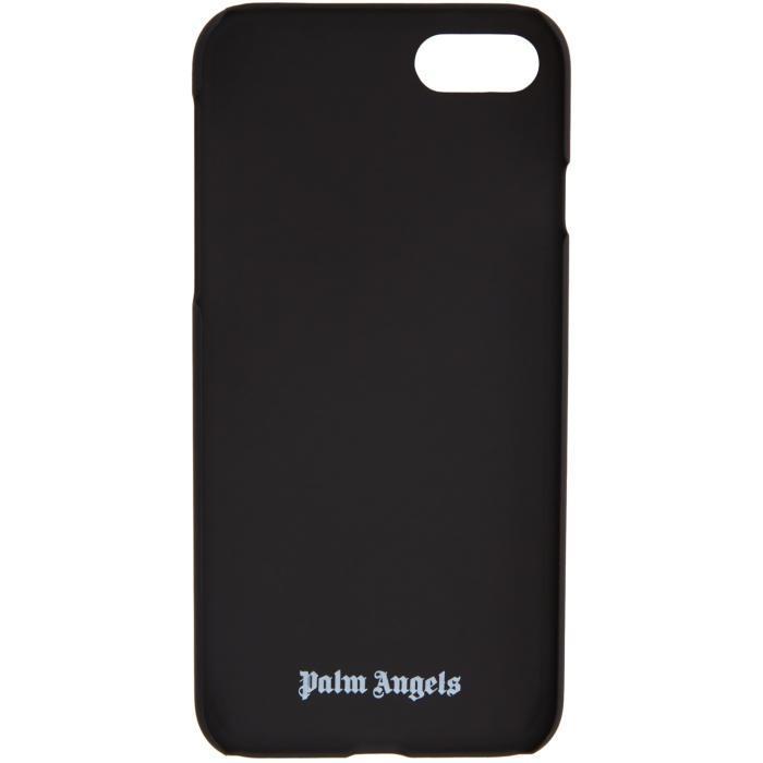 Gold Metallic Logo iPhone 7 Case Palm Angels EmHOA2
