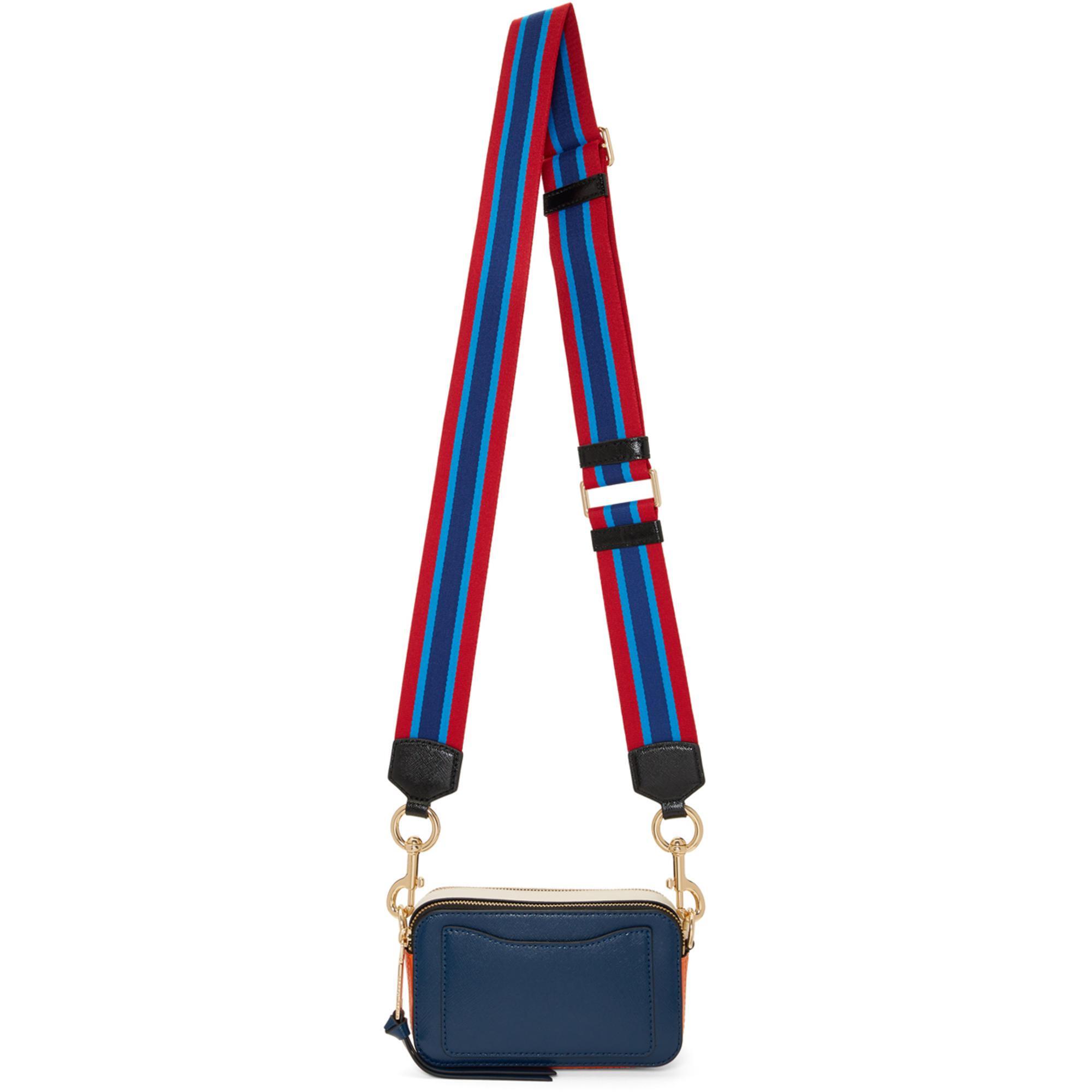 Navy Small Snapshot Bag