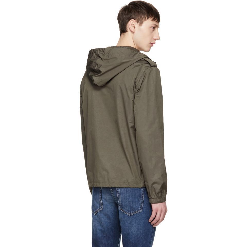 Natural Windbreaker In Laurent Men For Jacket Saint Khaki Nylon YgxwS