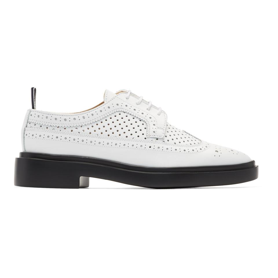 Thom BrownePerforated Classic Longwing Brogues B3MzubF