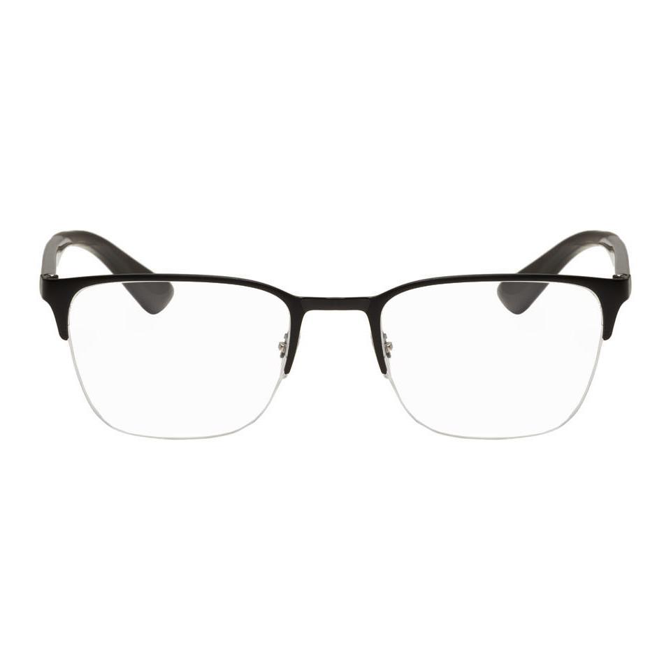 2e2d1ccbca Lyst - Ray-Ban Black Rb6428 Square Glasses in Black for Men