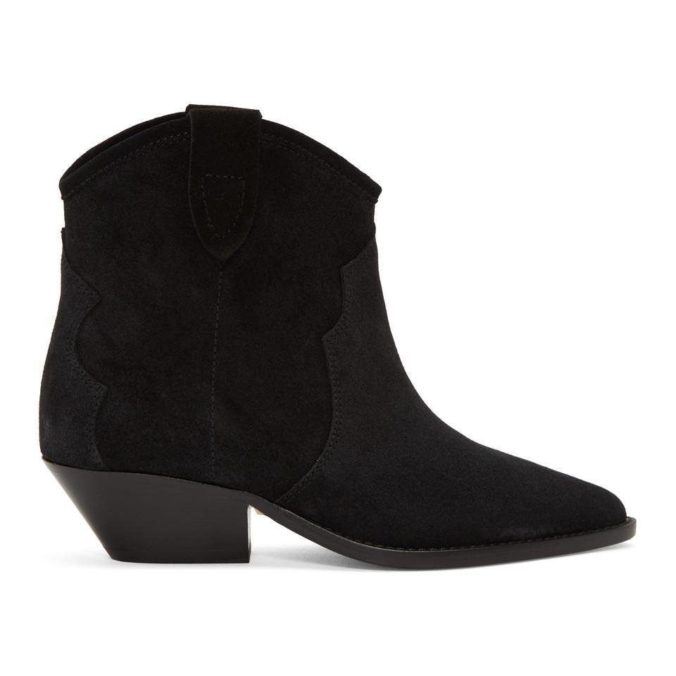 Isabel Marant Black Dewina Boots 0nJjX