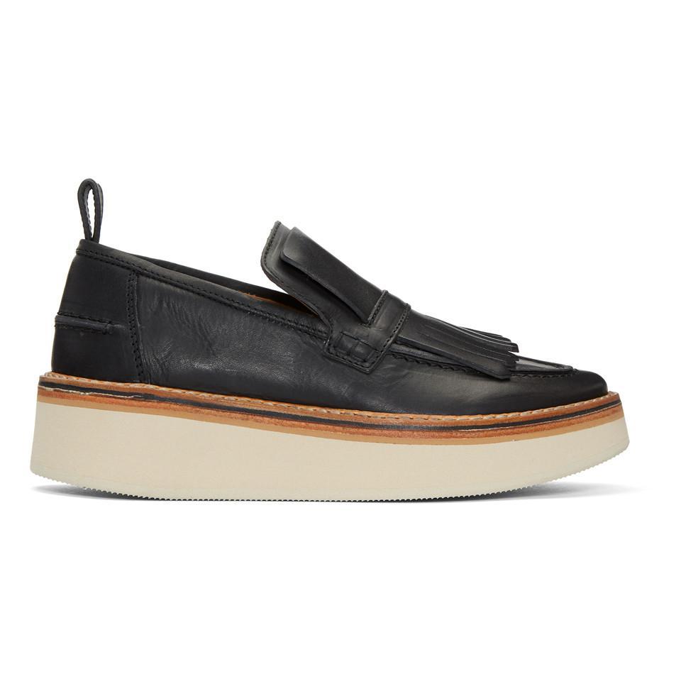 Black Trianon Platform Loafers Flamingos lQ7oVw