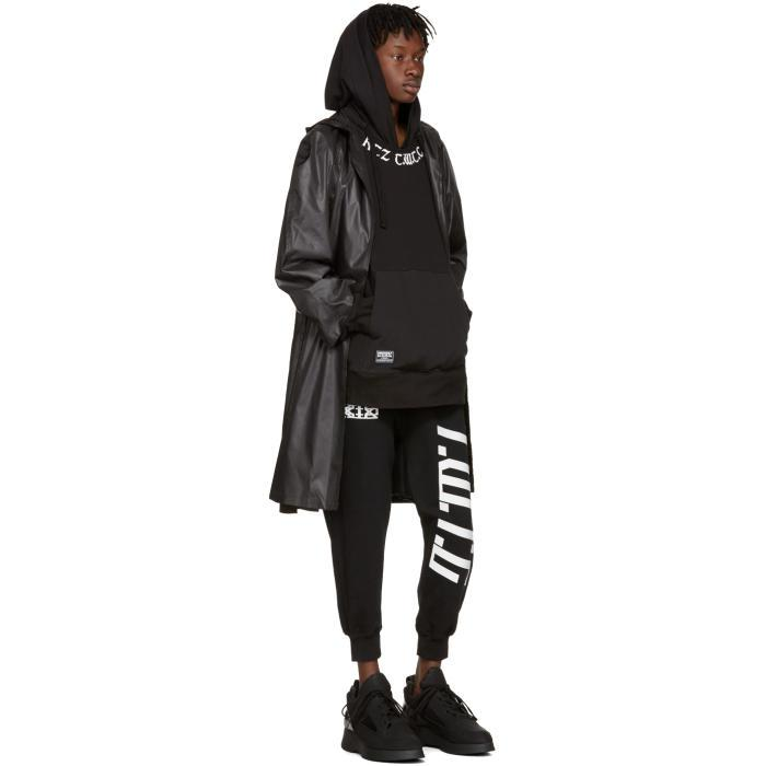 KTZ Cotton Black 'the World To Come' Hoodie for Men