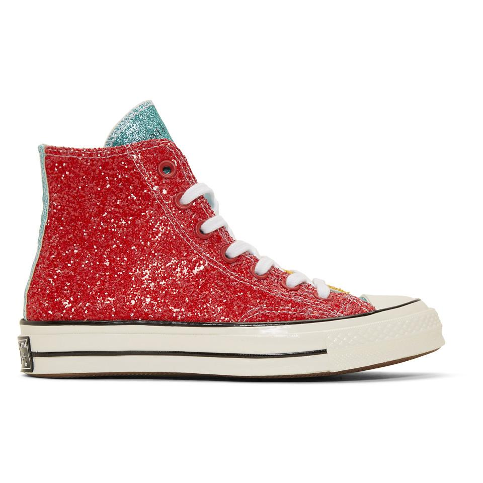 JW Anderson Rubber Red Converse Edition