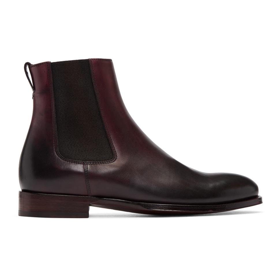 Paul Smith Burgundy Joyce Chelsea Boots fashionable sale online discount from china free shipping 2014 new Inexpensive cheap price 20FHVu