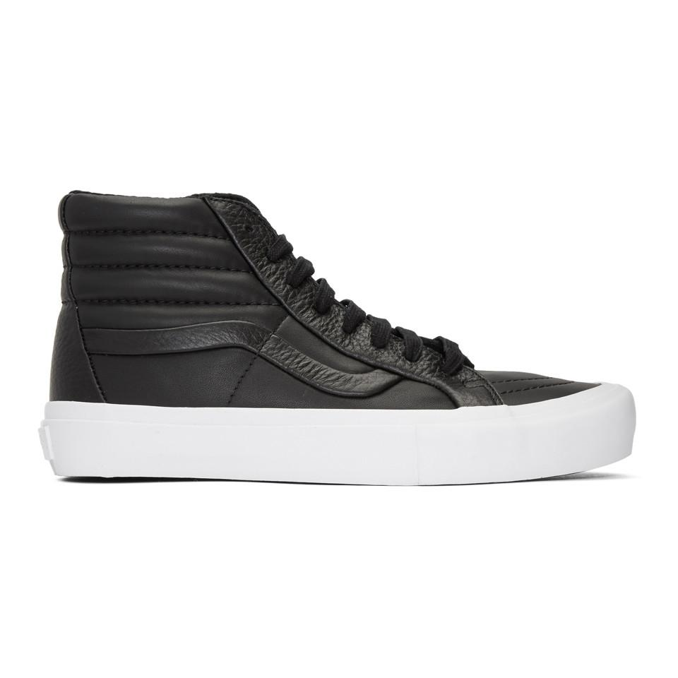 21d3f60dd0acc1 Lyst - Vans Black Stitch And Turn Sk8-hi Reissue St Sneakers in ...