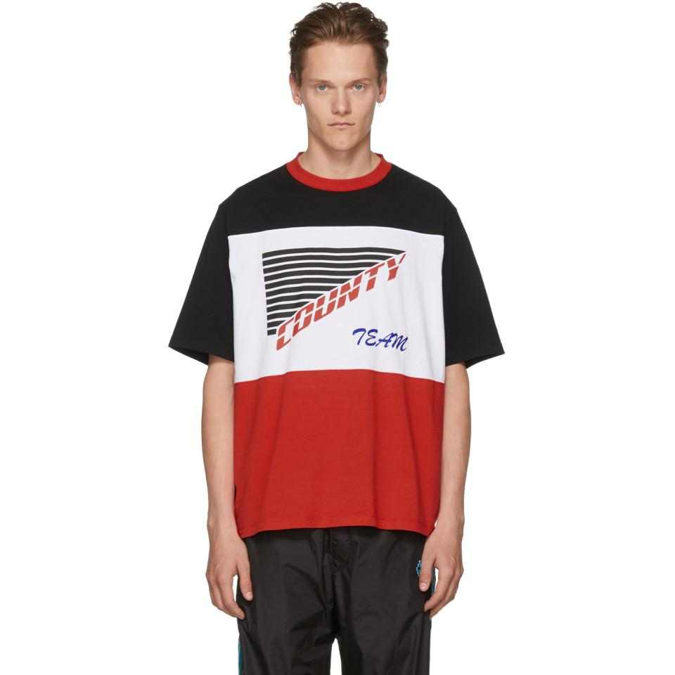 Multicolor County Team T-Shirt Marcelo Burlon 2018 New Cheap Price Clearance Manchester With Paypal Cheap Online wr3aZJSTq