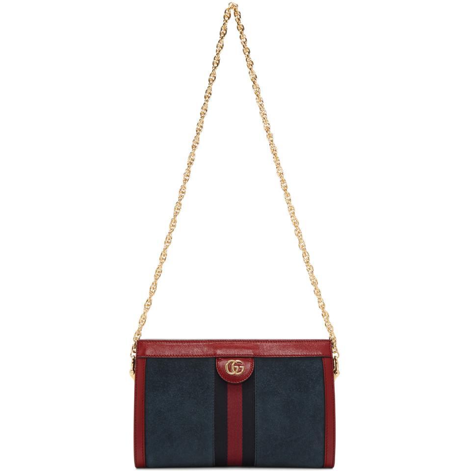 3cddc1039da9 Gucci Ophidia Small Suede Chain Shoulder Bag – Hanna Oaks