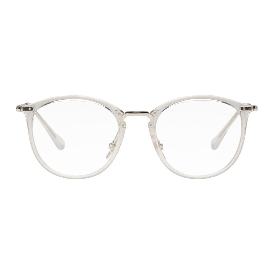 039987a24c Lunettes transparentes High Street Ray-Ban pour homme - Lyst