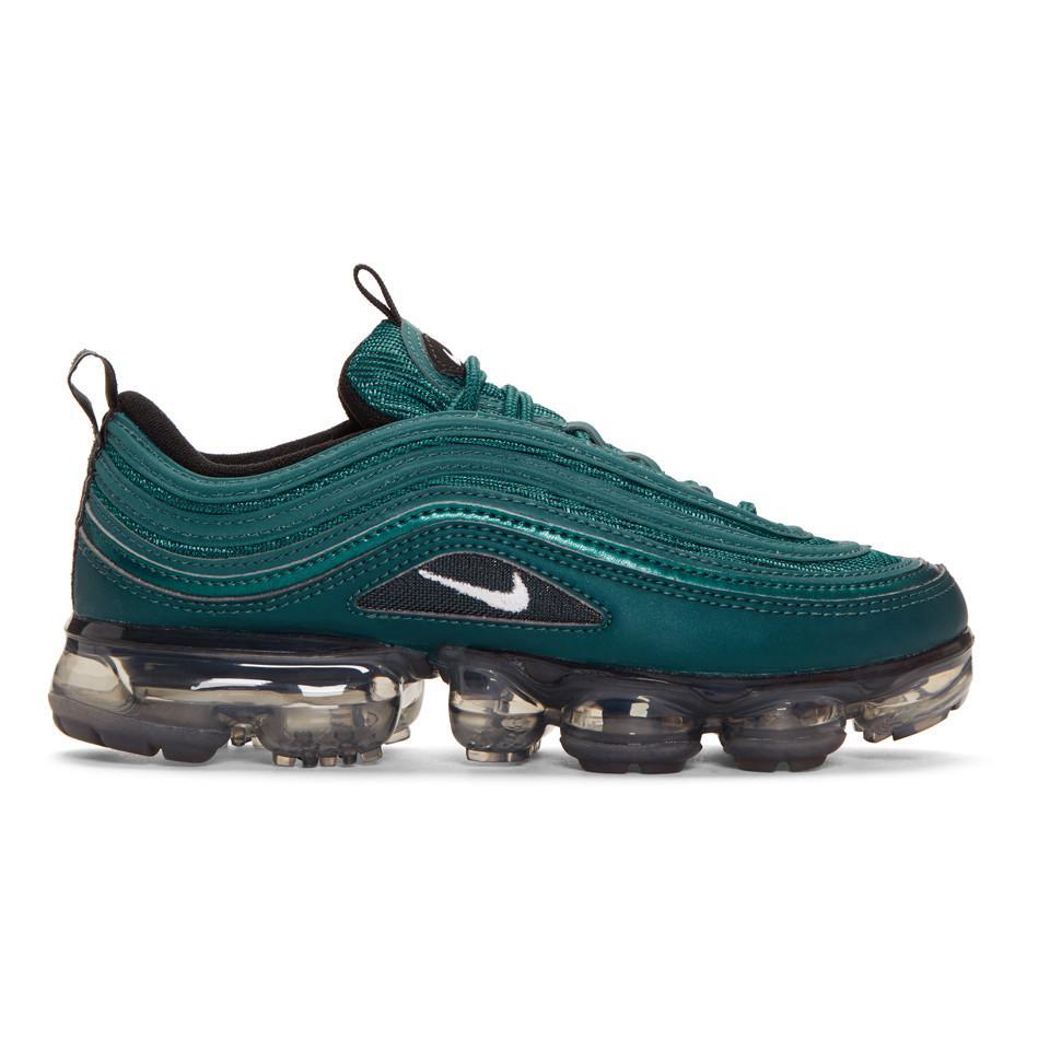 Nike Green Air Vapormax 97 Sneakers in Green - Lyst 1f31c322f