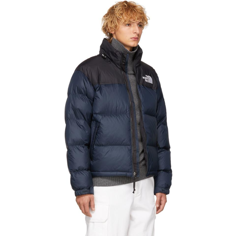 2cdf32ee28a Lyst - Blouson en duvet bleu marine 1996 Retro Nuptse The North Face ...