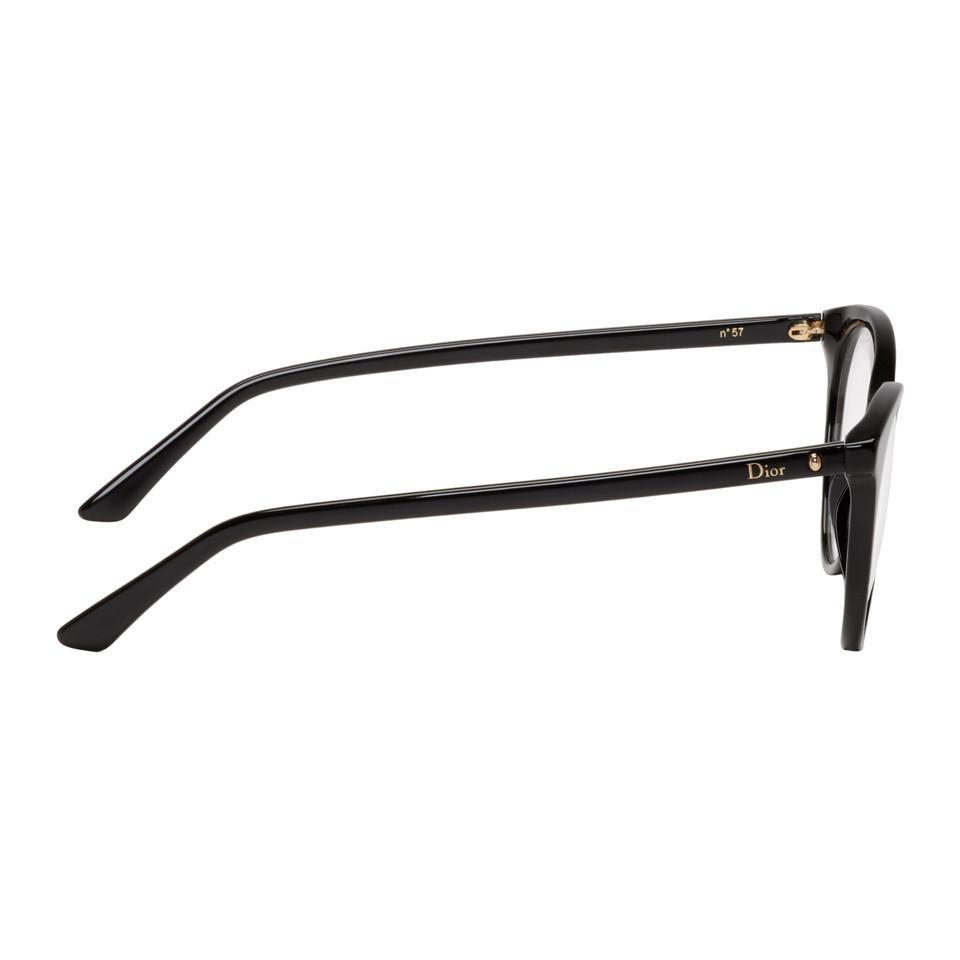 61c6fb92933 Dior - Black Montaigne 57 Glasses - Lyst. View fullscreen