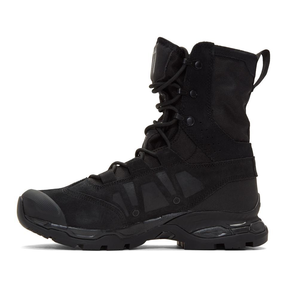 high quality super popular high quality Black Salomon Edition Jungle Ultra Boots