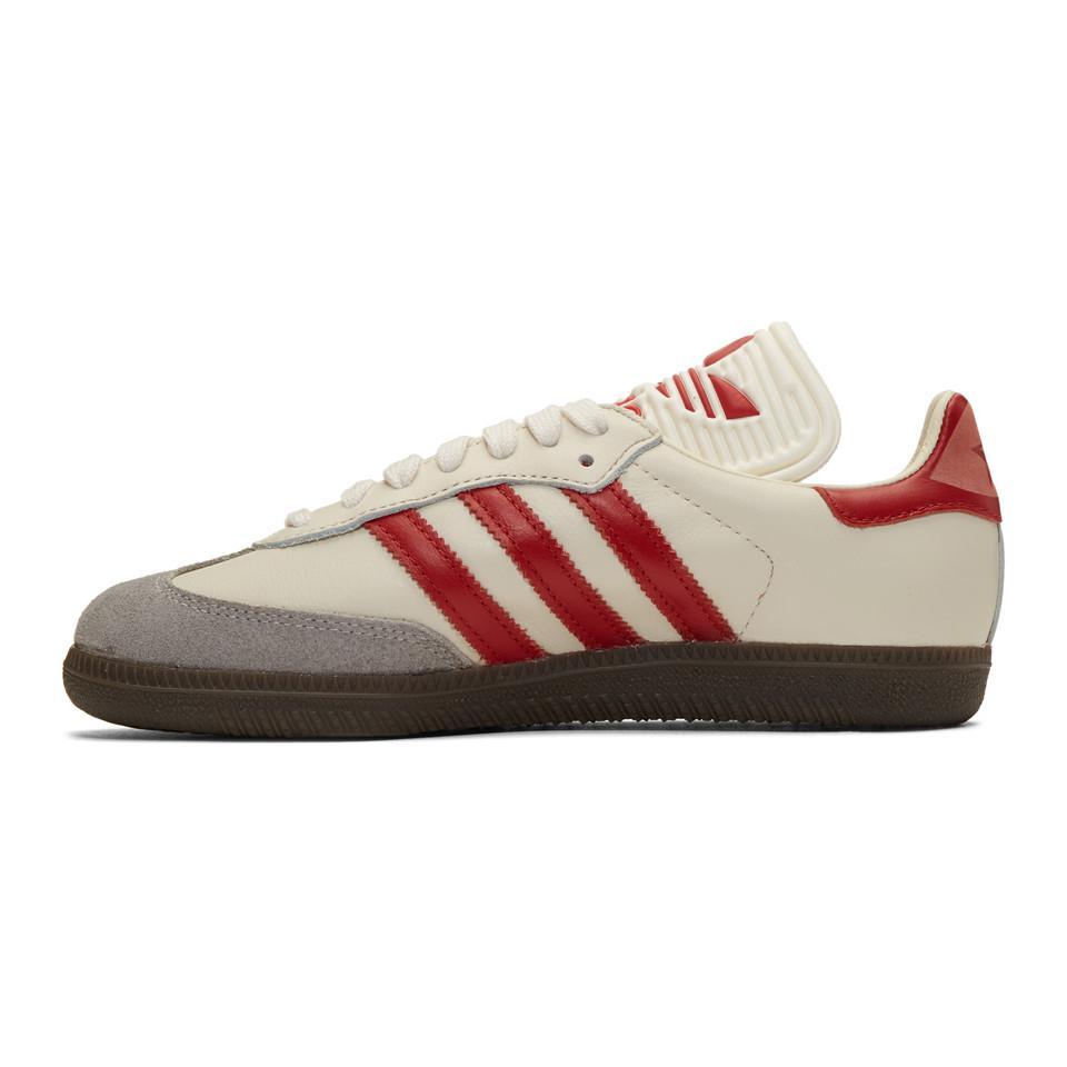 adidas samba white and red - 50% remise