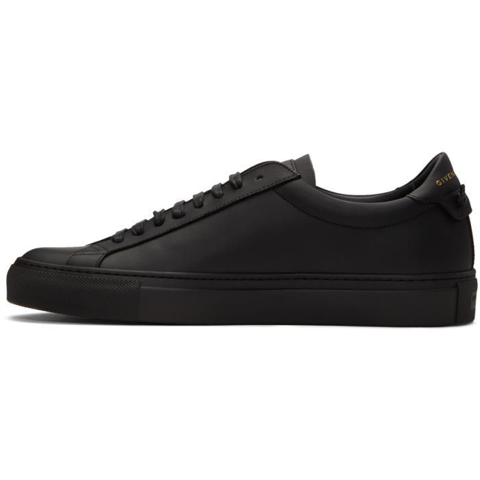 Givenchy Leather Black Knot Sneakers