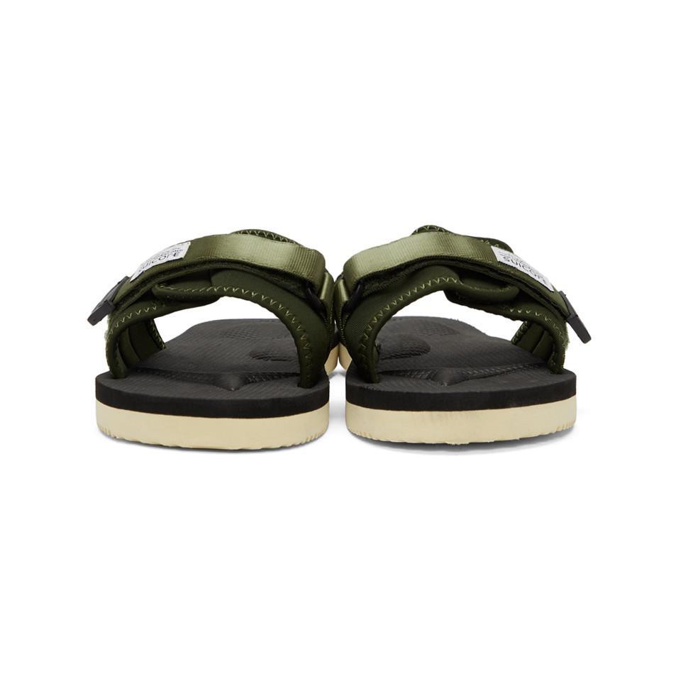 da1f4f06b739 Suicoke - Green Padri Sandals for Men - Lyst. View fullscreen