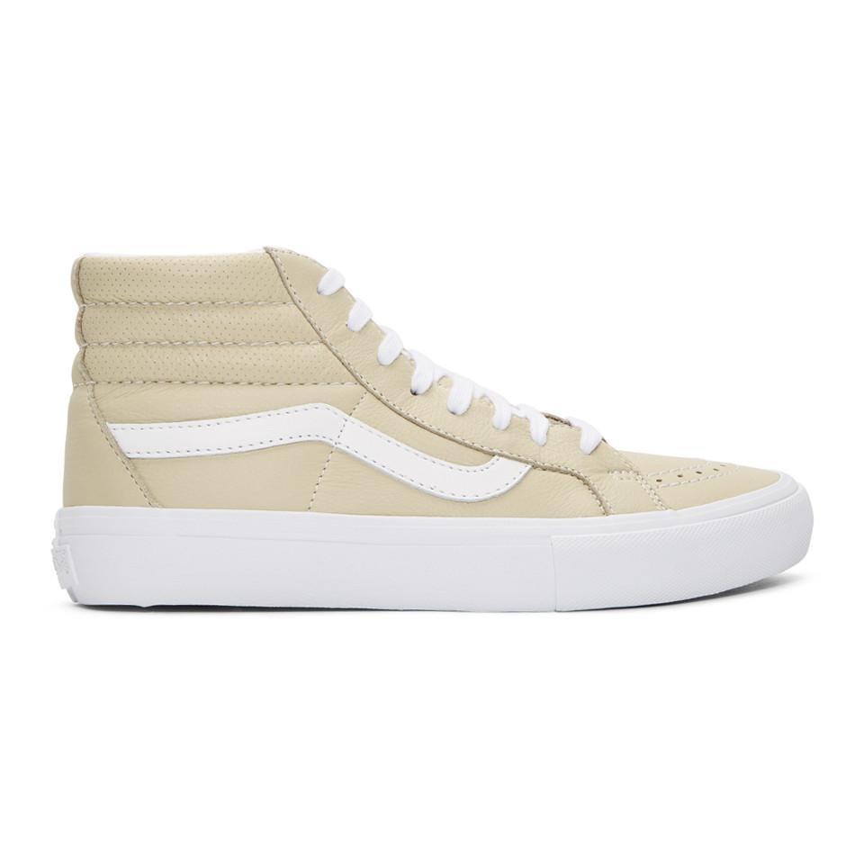 Beige SK8-Hi Reissue VLT LX Sneakers Vans tHAFfFk1sd