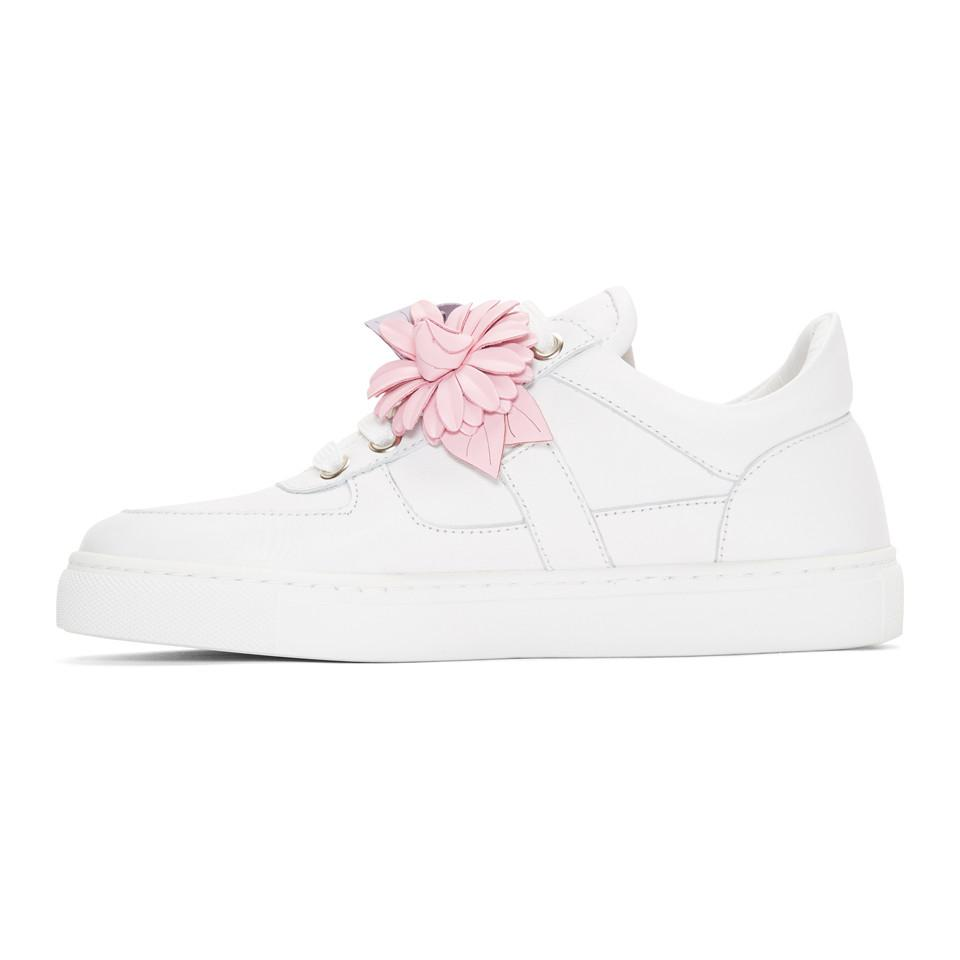 Sophia Webster Leather White Lilico Sneakers