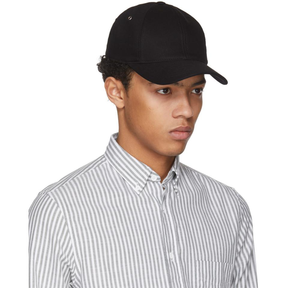 Black Twill Cap Ami iFXb6Xr33E