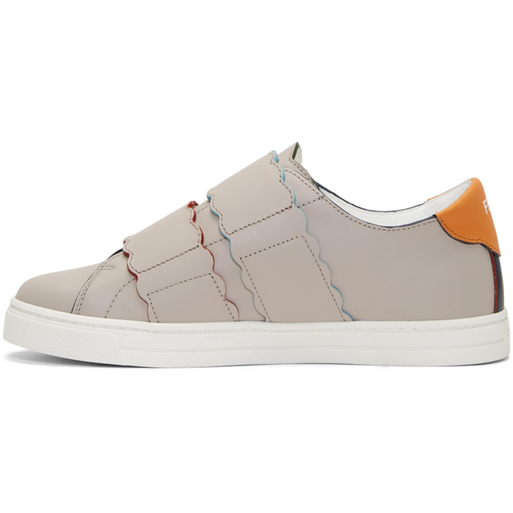 Proenza Schouler Navy Biscuit Double Strap Sneakers fpelW5B