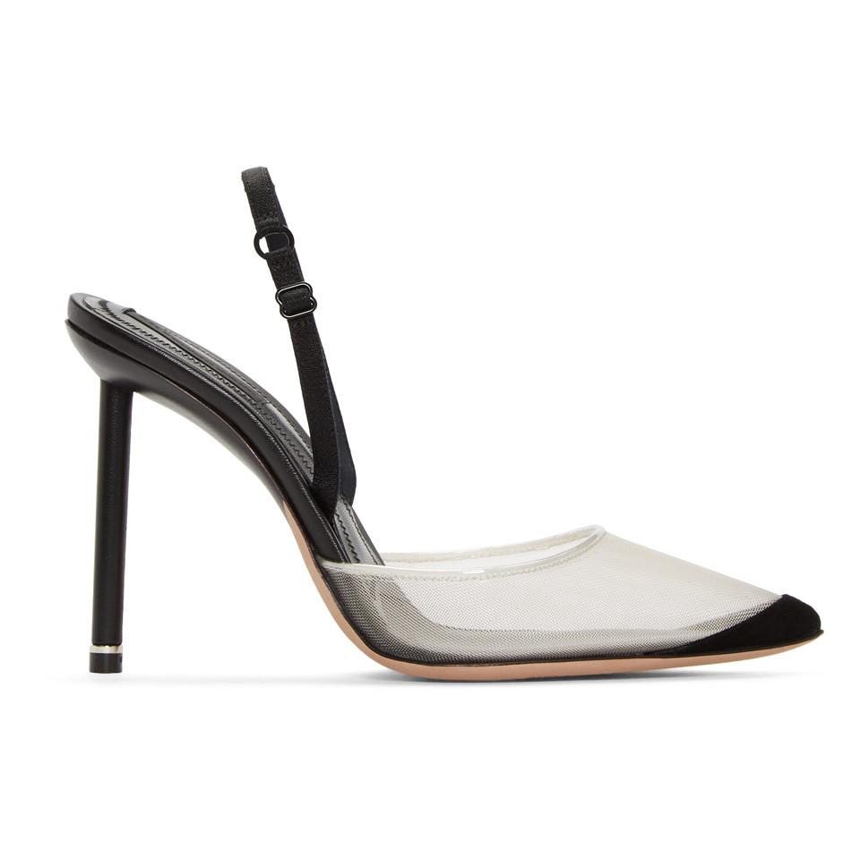 ec101a0c5323 Alexander Wang Black Alix Heels in Black - Lyst