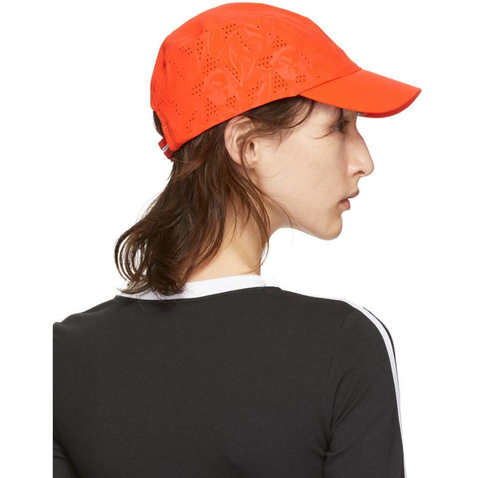 2644b3f038465 Adidas By Stella McCartney - Orange Run Cap - Lyst. View fullscreen