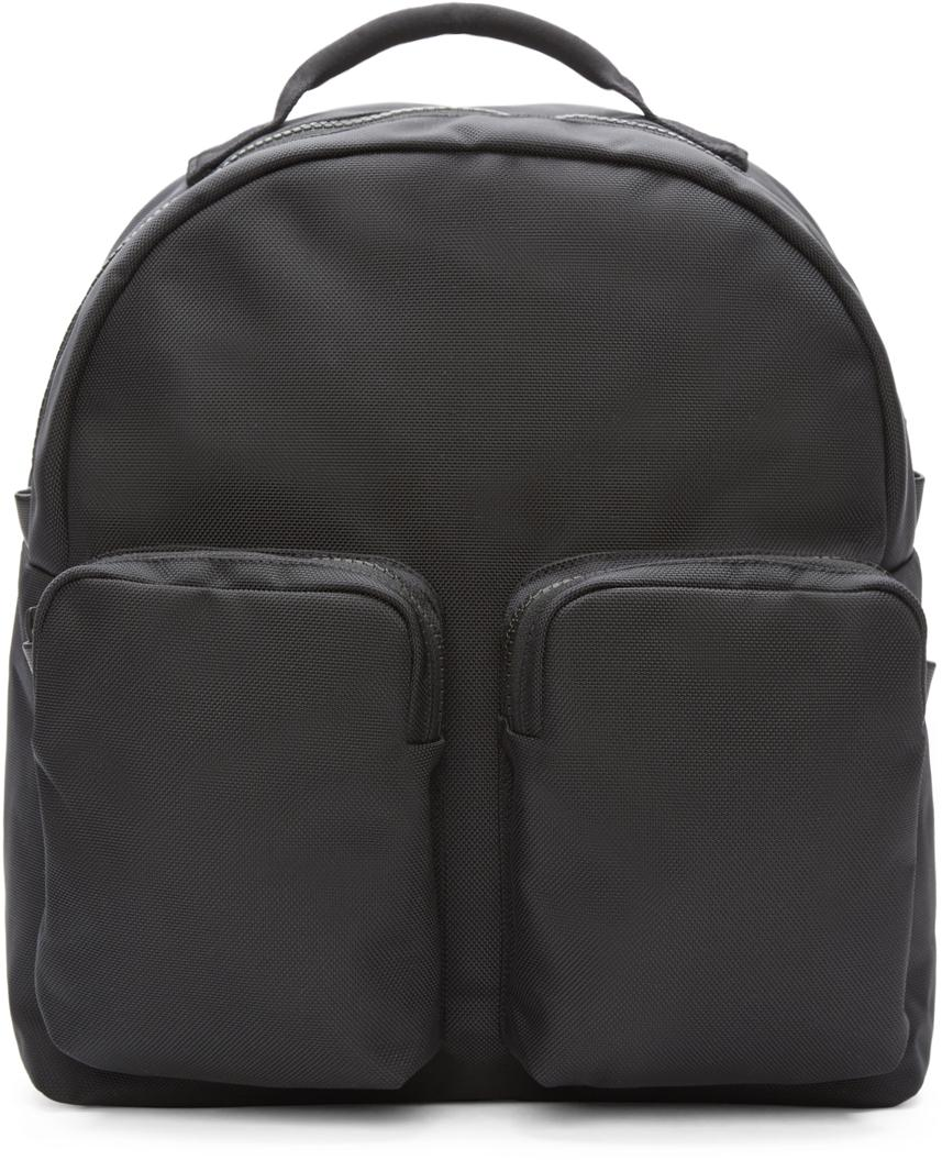 Yeezy Black Nylon Pocket Backpack In Black Lyst