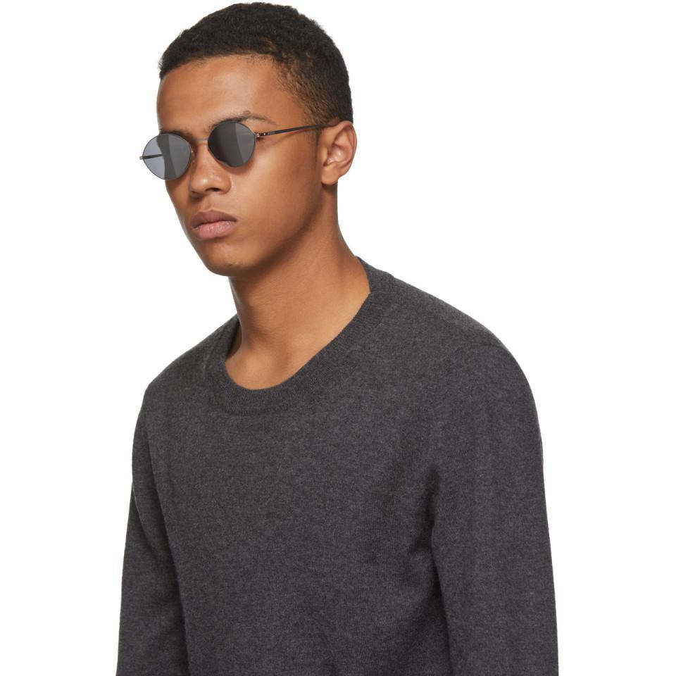 Maison Margiela Silver Mykita Edition Mmesse020 Sunglasses in Metallic for Men