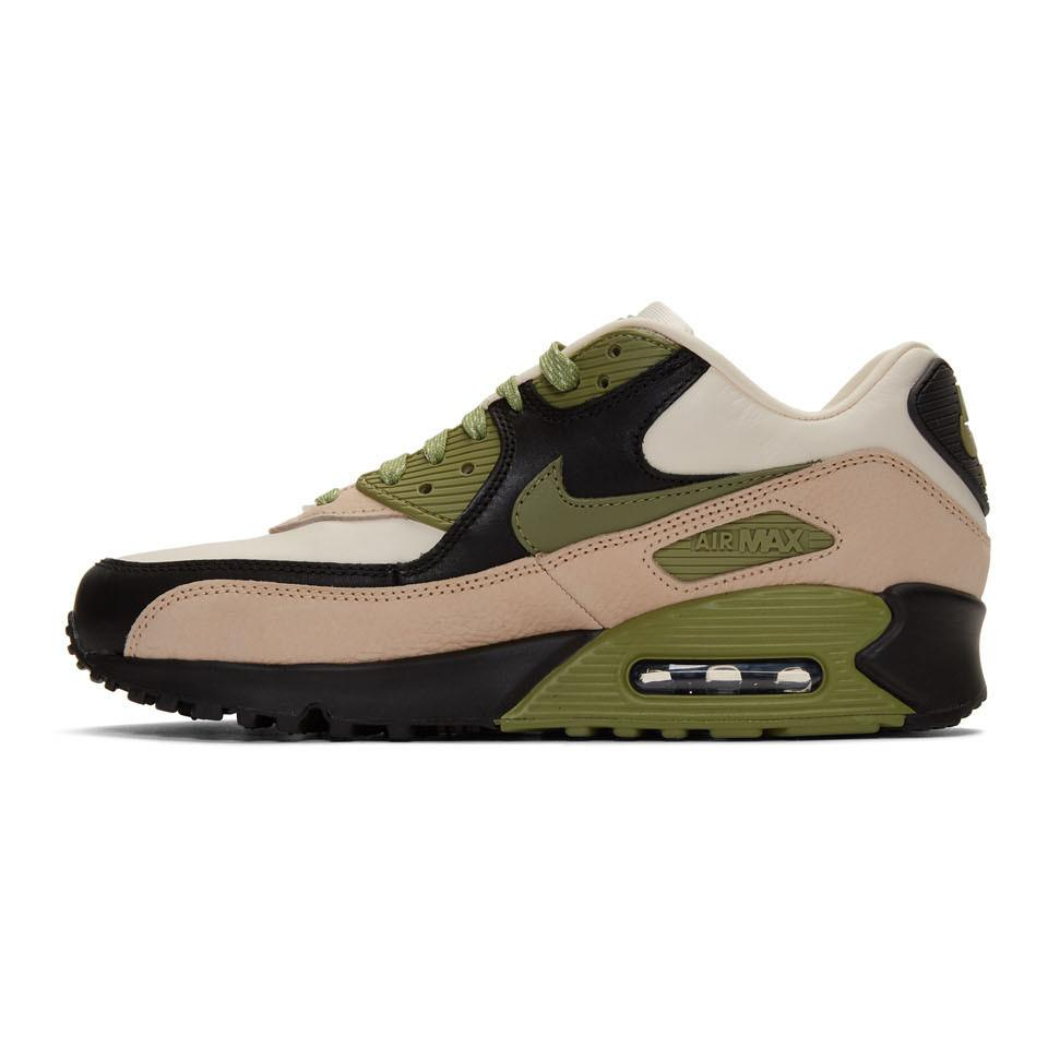 Nike Suede Air Max 90 Nrg Casual Running Shoes in Light Cream ...