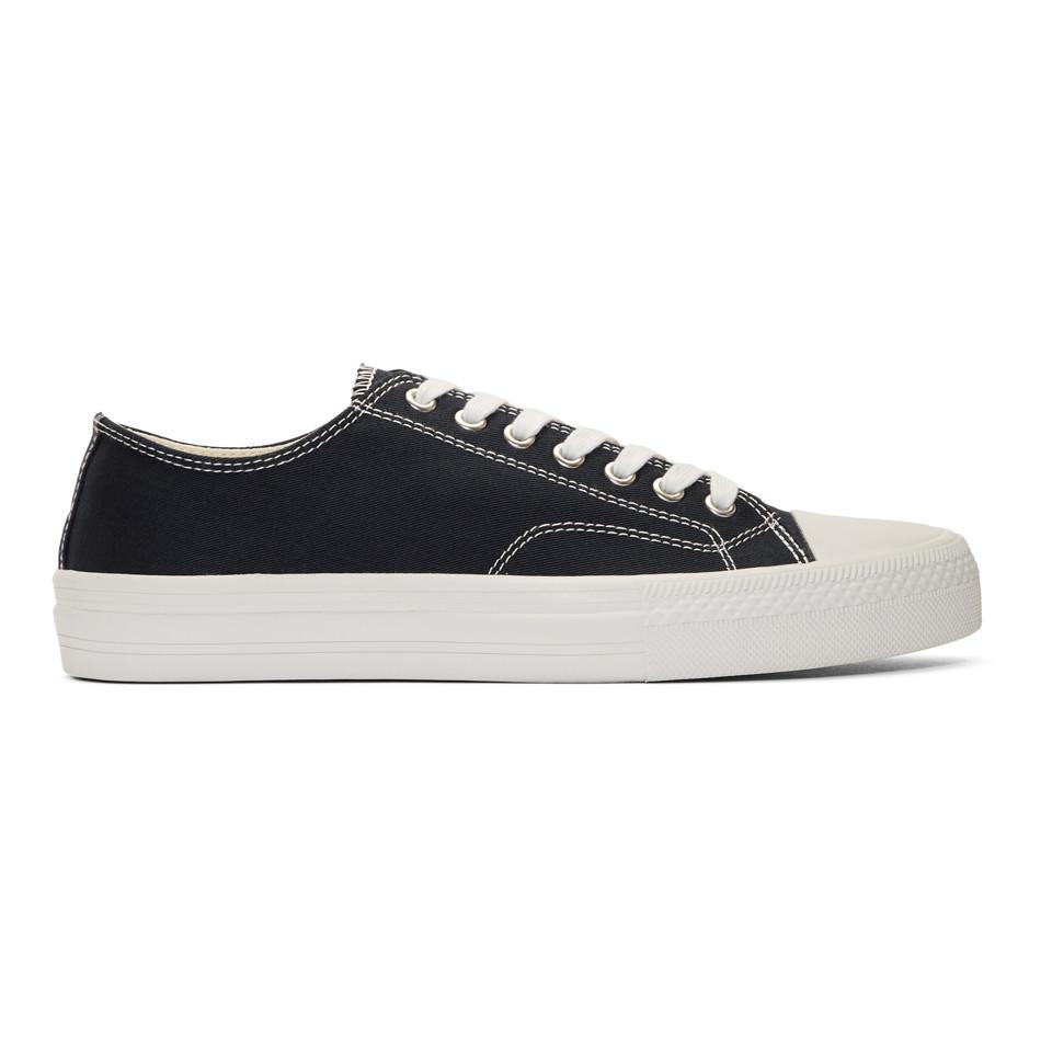 Navy Twill Sneakers Junya Watanabe XL9aT