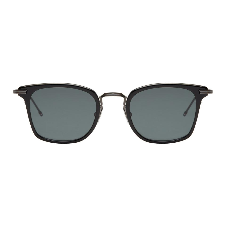 cdb1c9595 Thom Browne Black Tb 905 Sunglasses in Black for Men - Lyst