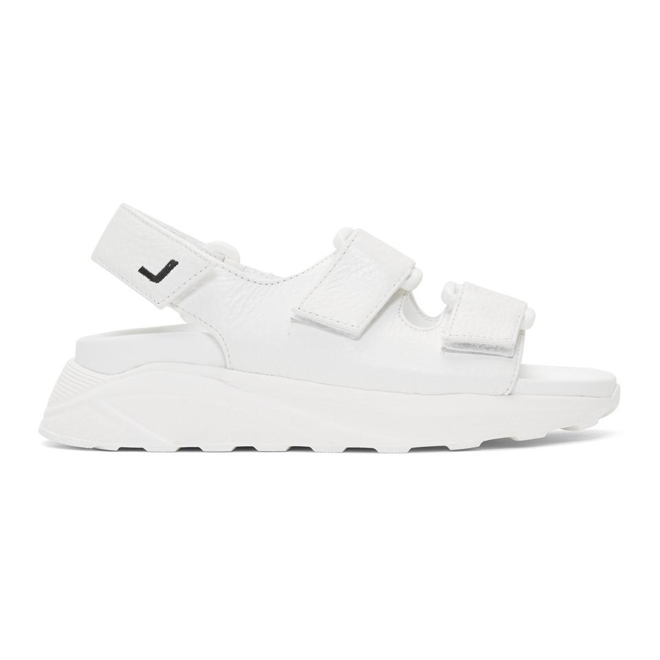 c50478f63ff9 Lyst - Joshua Sanders White Boing Sandals in White