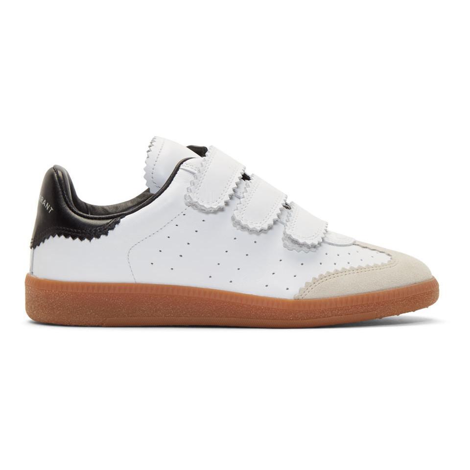 Isabel Marant Beth Vintage Velcro Sneakers