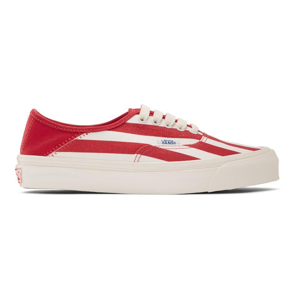 Vans Canvas Og Style 43 Lx in Red for Men - Lyst