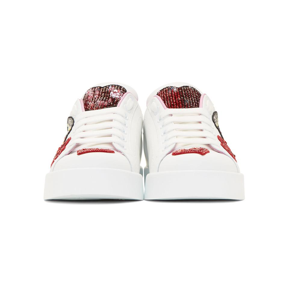 White Amore Energy Sneakers Dolce & Gabbana tyHqw