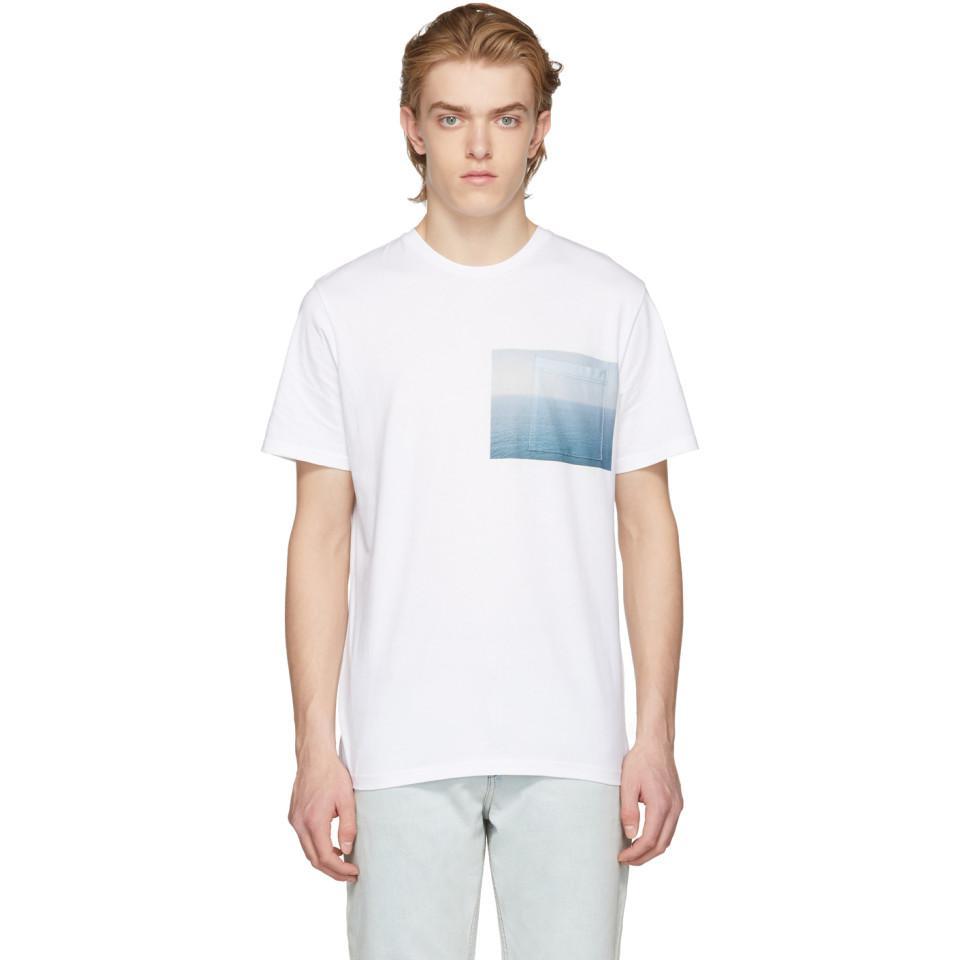 White Sea View T-Shirt A.P.C. Cheap Sale Sneakernews Buy Cheap Get To Buy Big Sale Online Buy Cheap Eastbay 9i7XpmJUJ