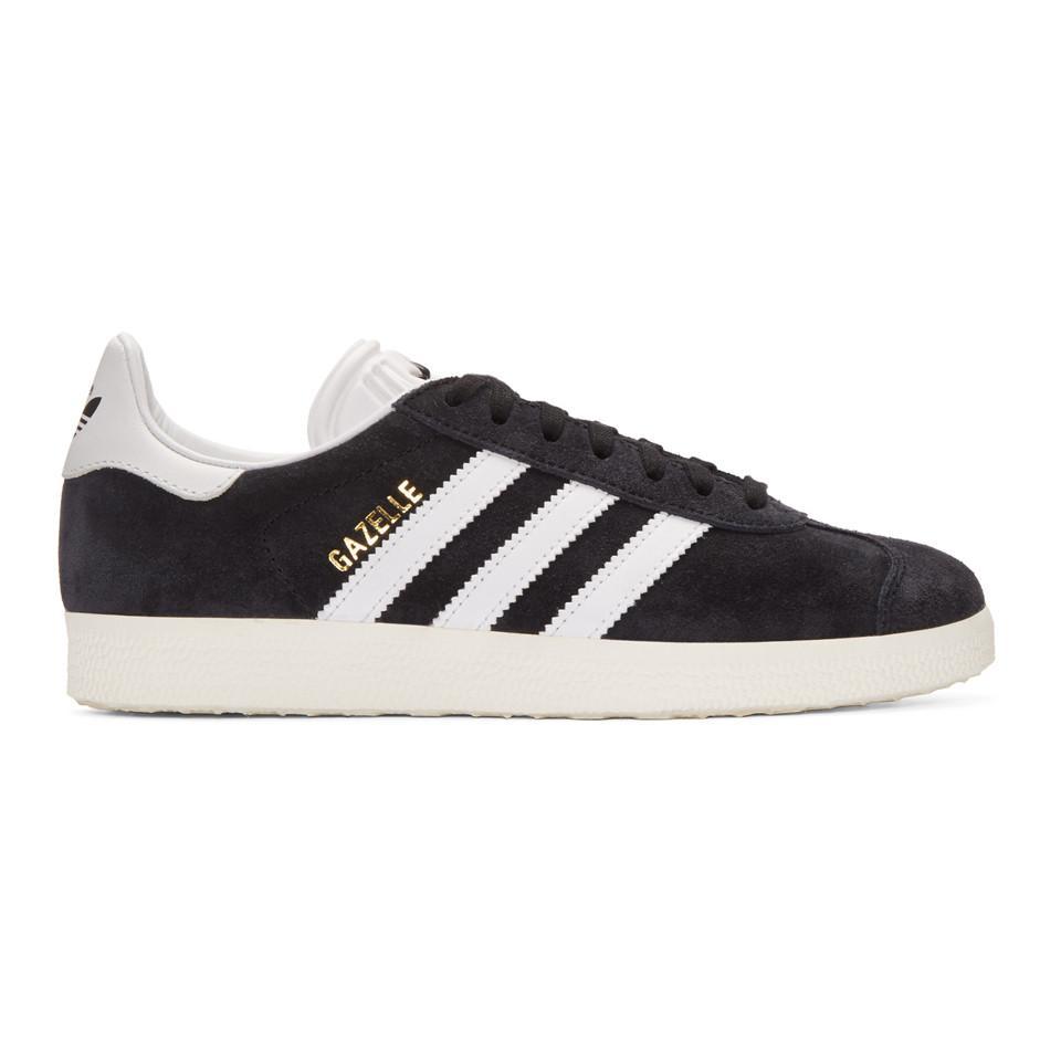 Baskets noires OG Vintage Gazelle Daim adidas Originals en coloris ...