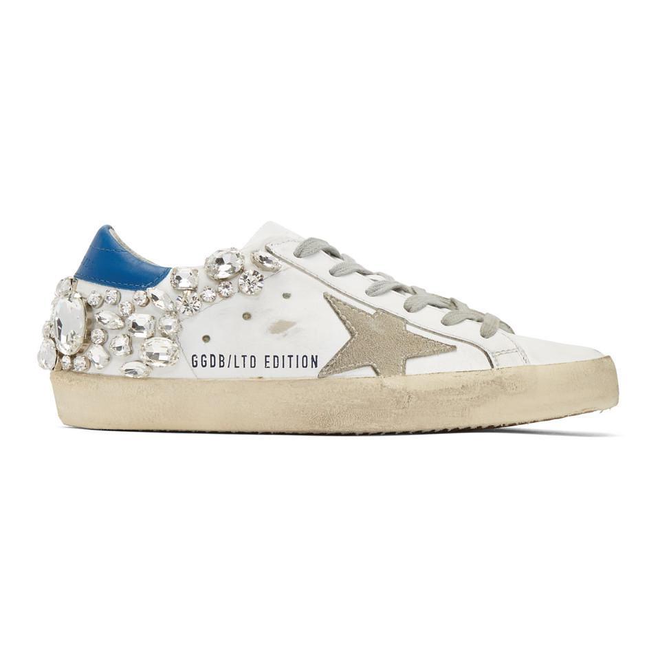 White Diamond Superstar Sneakers Golden Goose dmjEMafPz