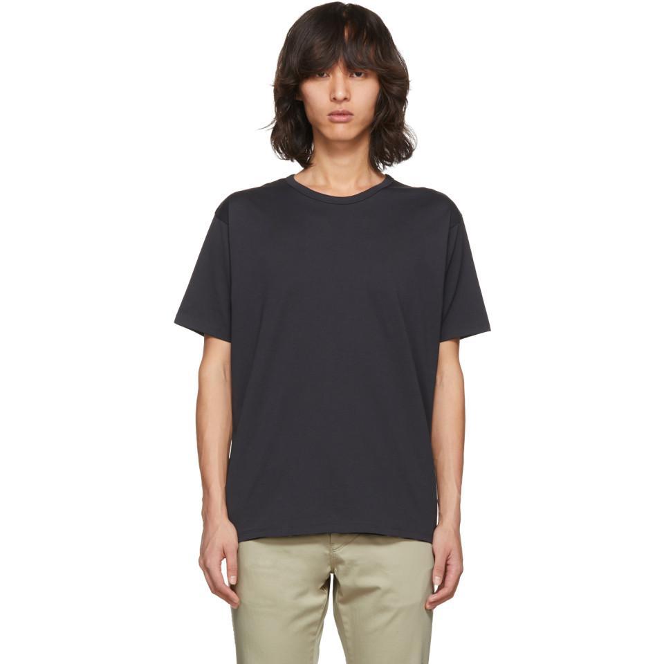 Lyst Acne Black Niagara T Shirt In Black