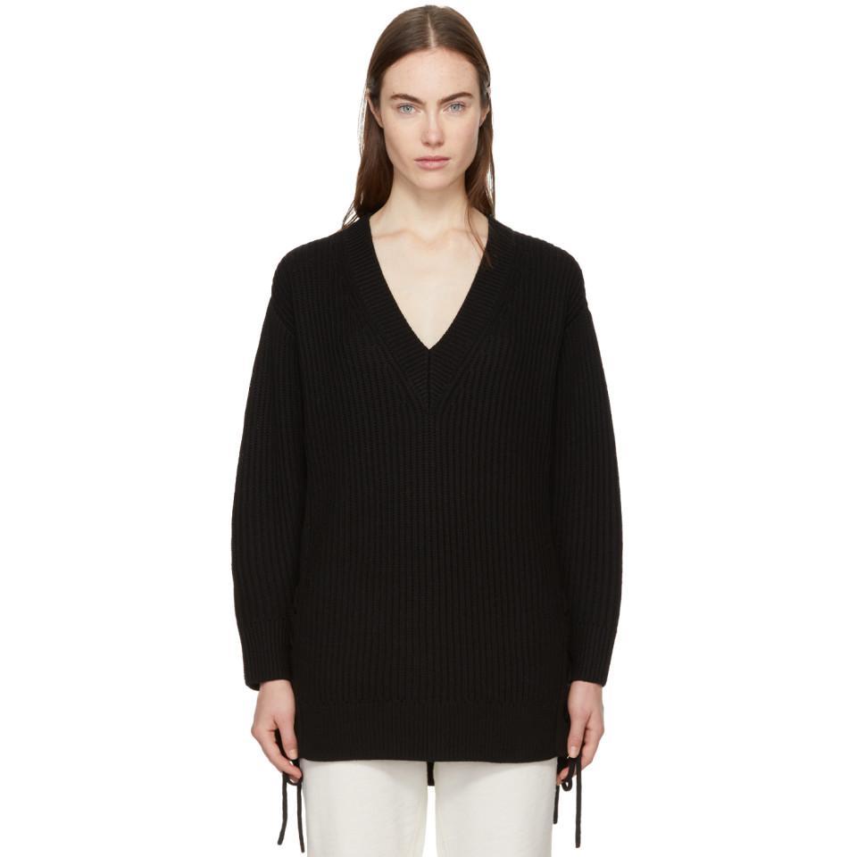 Black Ivy Lace-Up Sweater Rag & Bone Cheap Latest uX6wR
