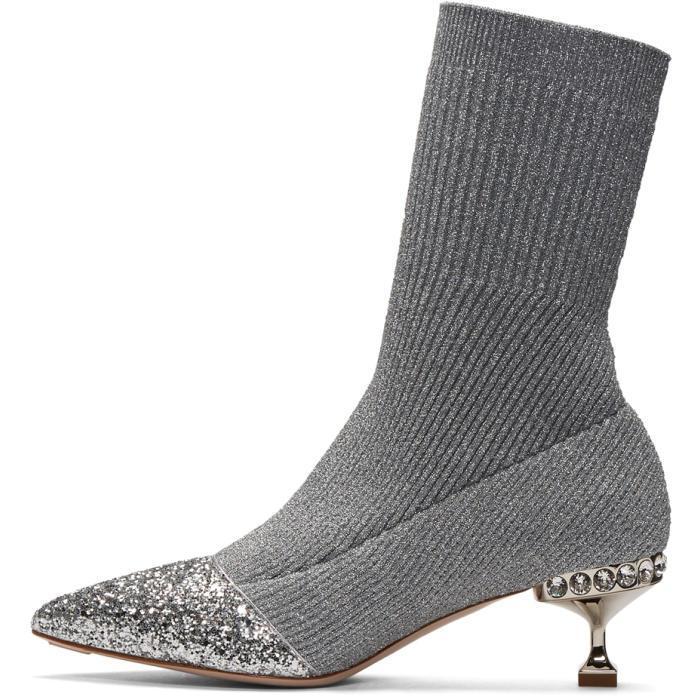 1d221bb2ef62 Gallery. Previously sold at: SSENSE · Women's Miu Miu Cap Toe Shoes Women's  Miu Miu Glitter Accessories