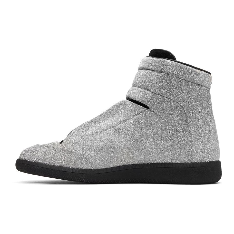 maison margiela sparkle shoes