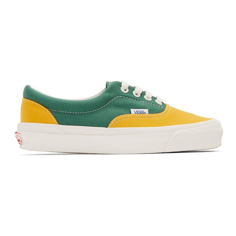 buy \u003e green and yellow vans, Up to 64% OFF