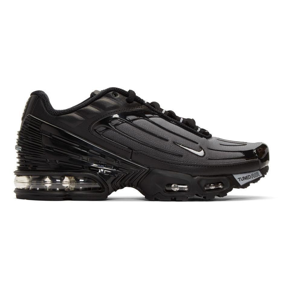 Nike Black And Grey Air Max Plus Iii Sneakers for Men - Lyst