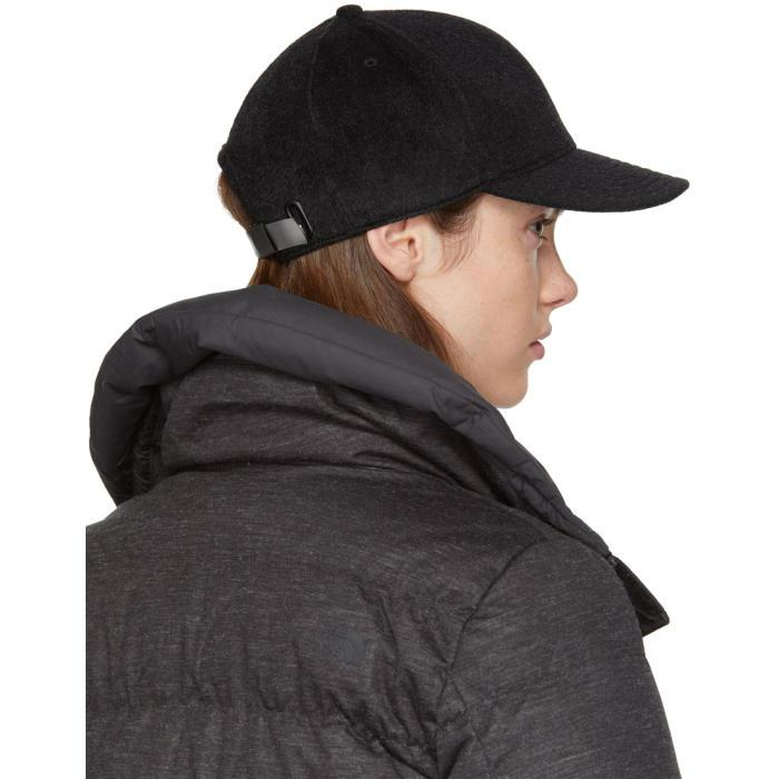 a2c9319f77e Lyst - The North Face Black Wool Cryos Cap in Black